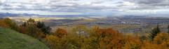 Vue duChâteau du Hohlandsbourg, au dessus du village de Wettolsheim Reproduction interdite - 2020