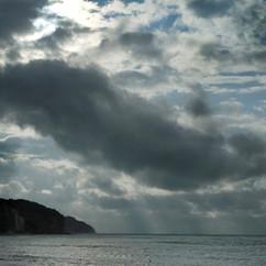 Les plages de Pourville en Normandie 2014
