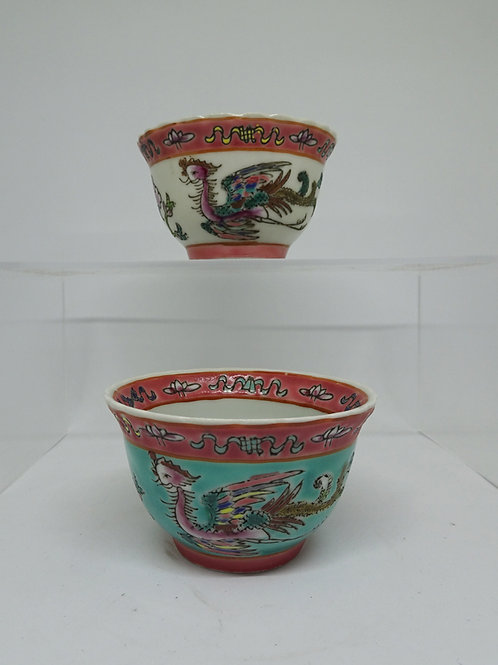 Baba Phoenix Porcelain Tea Cup (1pc)