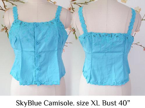 Sky Blue Camisole size XL