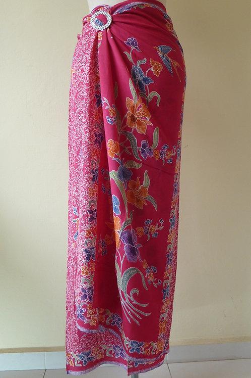 Rayon Sarong Dark Pink