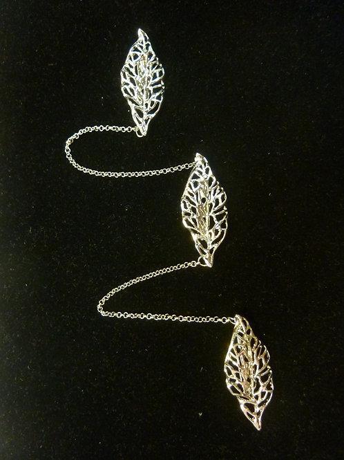Kerosang Silver Leaves C