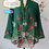Thumbnail: B: Orchid Butterfly in Emerald Kebaya. size XL