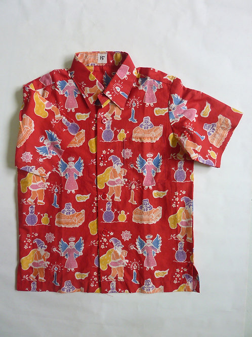 X'mas Red Shirt. 5 years