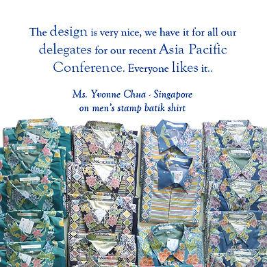 peranakan men batik shirt baba singapore nonya nyonya