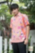 red flower baba batik cotton men singpore
