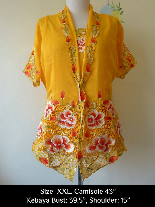 Short Sleeve Yellow (XXL)