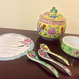 peranakan porcelain singapore spoon