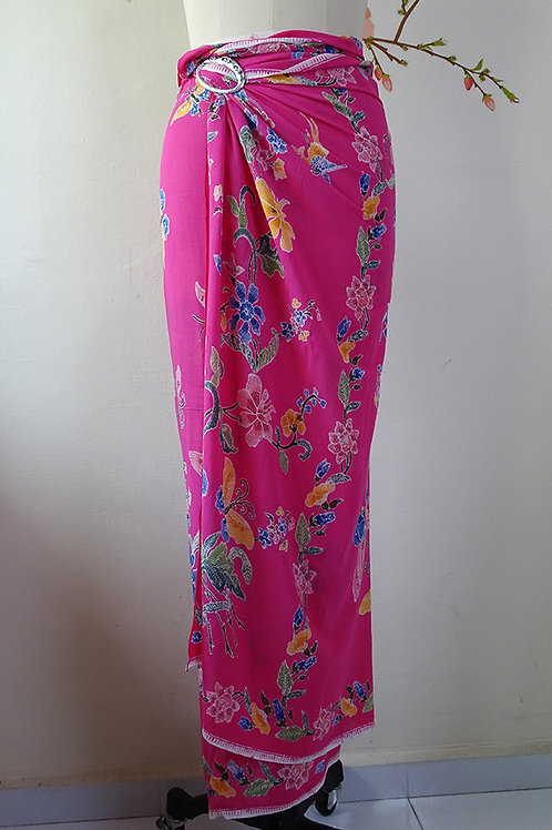 Rayon Sarong Pinkalicious