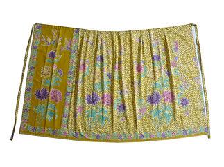 peranakan sarong stamp batik cotton singapore indonesia