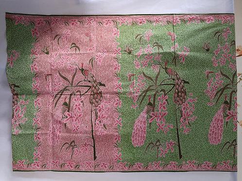 Sarong Orchid Peacock Thulian-Green