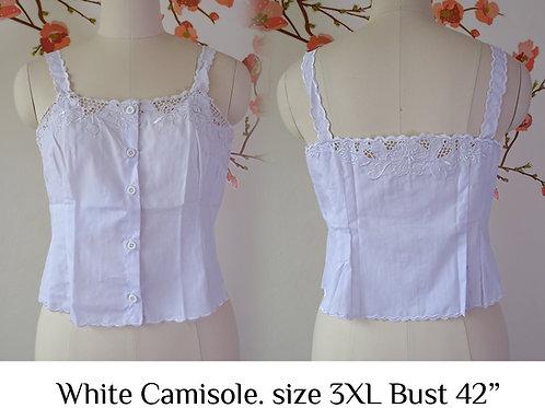 White Camisole size 3XL