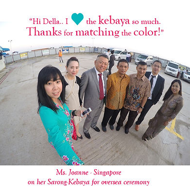 peranakan blue kebaya pink batik sarong singapore nonya nyonya