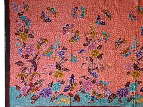 Hip wrap Butterflies on Orange