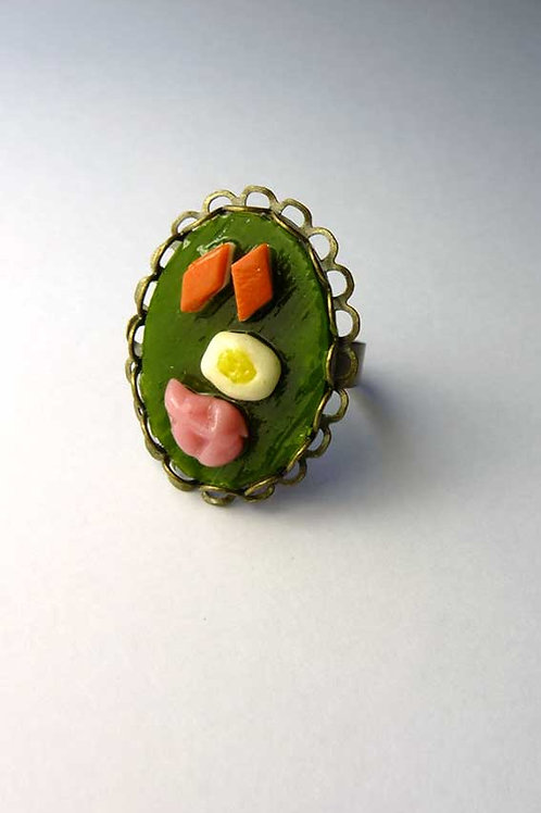 Handmade Clay Ring