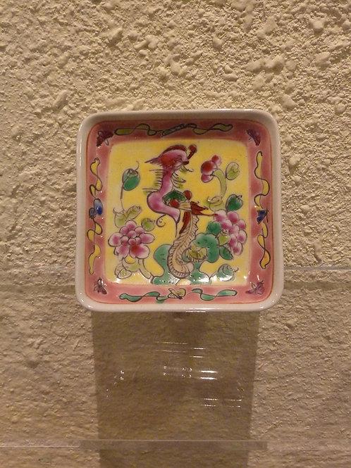 Porcelain Sauce Dish Square Phoenix