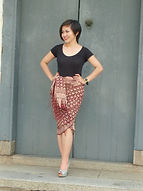 large silk batik singapore nonya nyonya