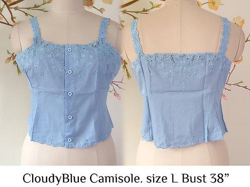 Cloudy Blue Camisole size L A