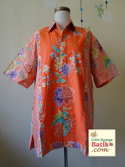 SBMS: Flower Tangerine Cotton (XL) Lining