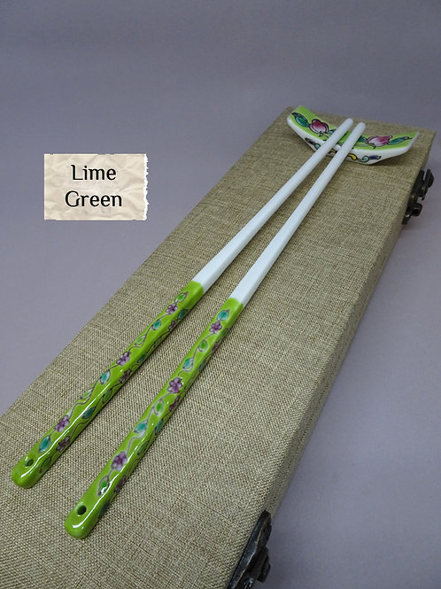 Chopstick with Rest in box (1set)