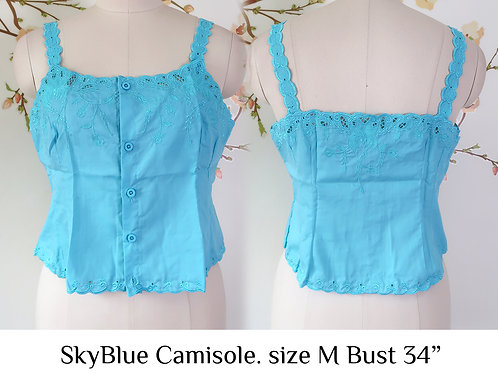 SKy Blue Camisole size M A