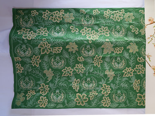 Hand drawn Green Flower Cuwiri by Maria Liem
