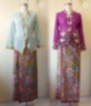 peranakan culture hand drawn batik kebaya nyonya nonya Singapore