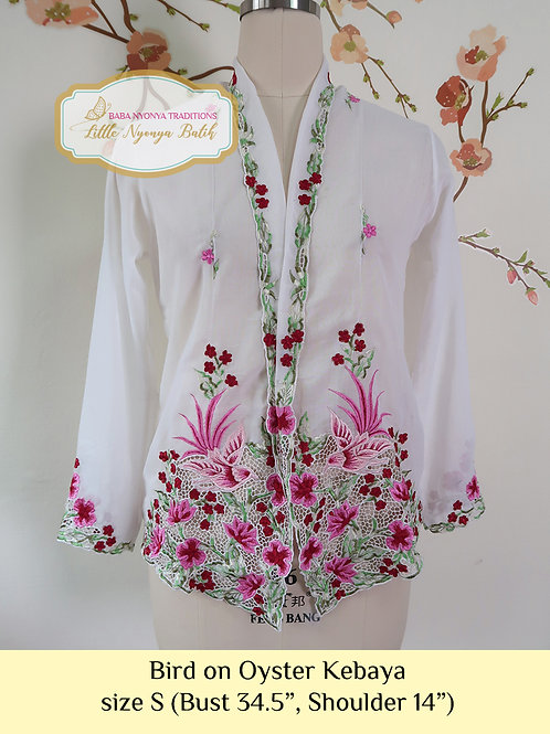 B: Bird in Oyster Kebaya. size S