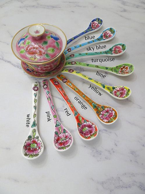 Curve Spoon Flower 5pcs Assorted Color