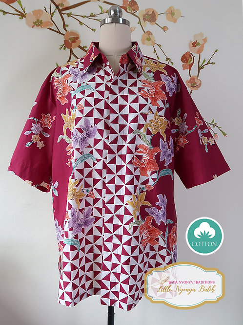 SBMS: Orchid Dark Red (XL) No lining