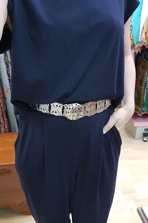 Silver Belt Adjustable (Large)