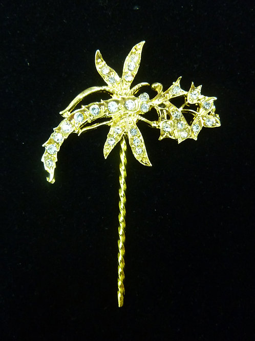 Mini Hair Pin Dragonfly Vintage Style