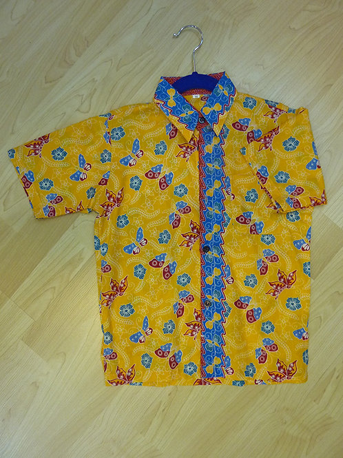 Boy Butterfly Yellow. size 11