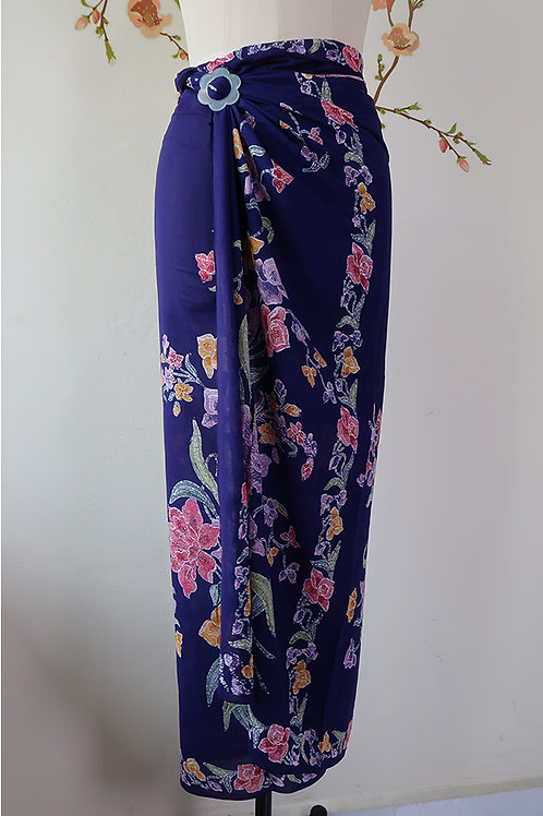 Rayon Sarong Royal Purple