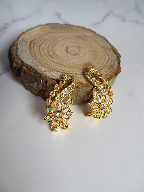 Earring Vintage Style Phoenix Tail A