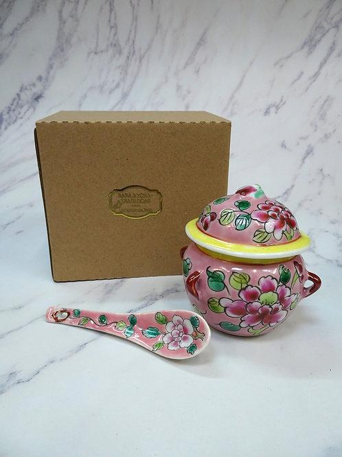 Mini Kamcheng Peony with spoon