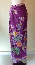 sarong batik peranakan rayon singapore