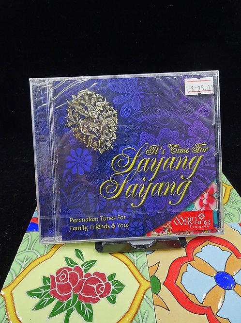Music CD: It's Time For Sayang Sayang
