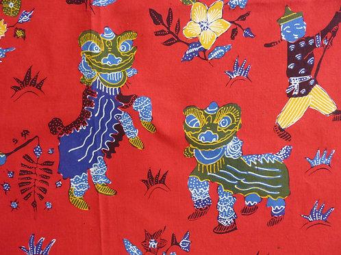 Chinese: hand drawn Chinese New Year Red