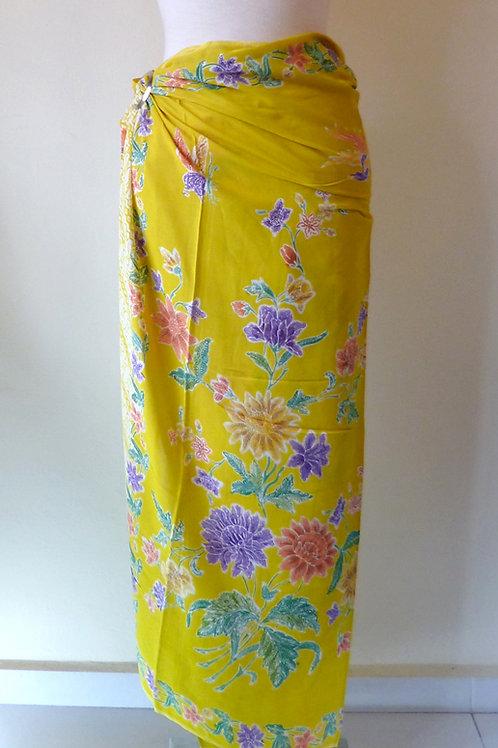 Rayon Sarong Yellow