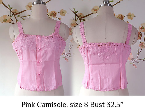 Pink Camisole size S A
