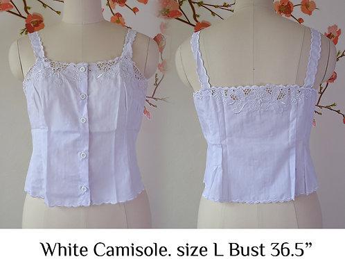 White Camisole size L