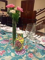 peranakan porcelain spoon vase nyonya singapore