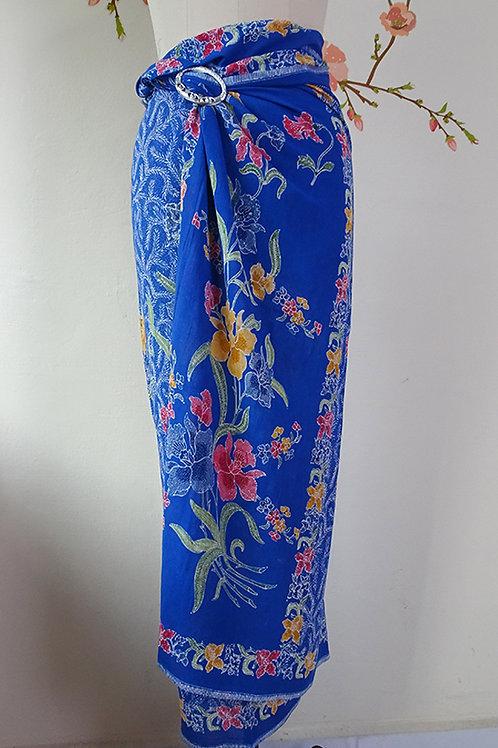 Rayon Sarong Blue