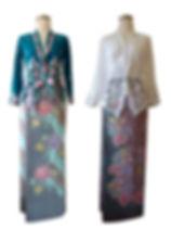 peranakan batik pagi sore hokokai singapore kebaya