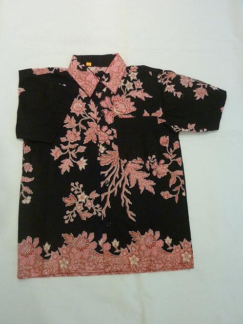 Boy Flower Black. size 11