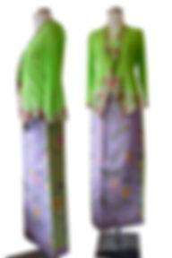 peranakan batik sarong high quality hand drawn singapore indonesia
