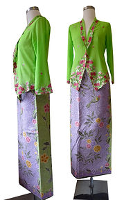 peranakan batik sarong high quality hand drawn singapore indonesia