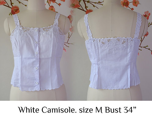 White Camisole size M