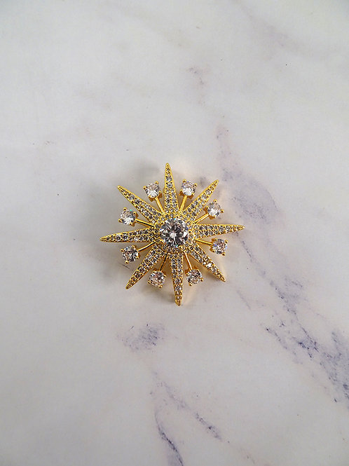 Premium Brooch Star